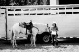 holding horses.....